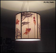 Fish Carousel pendant  lampshade