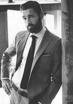 Beard & suit
