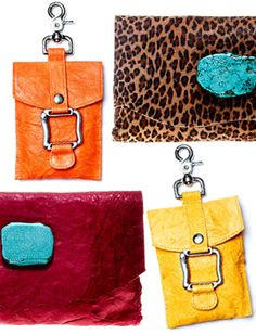 Colorful Clutches.