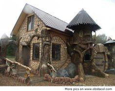Fairytale house.