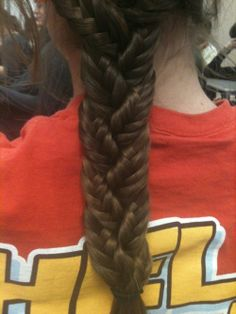 3 fishtail braids