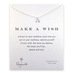 Make a wish necklace | Dogeared