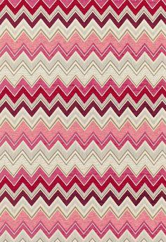Fabric | Zenyatta Mondatta in Grenadine | Schumacher $109c
