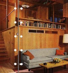 Mid Century Modern split level.1956 edition, Better Homes & Gardens Decorating Book.