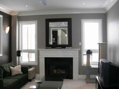 family room. I love the idea of a black, gray, and white living room. it is so nice and elegant.