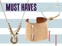 Must Haves: 16 Pieces Of Awesome Arrow Jewelry