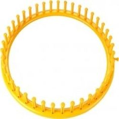 Yellow Round Knifty Knitter Loom Patterns