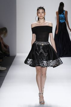 Swarovski Crystalized skirt, NYFW Timo Weiland, photography by Dan Lecca