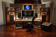 Home music studio ideas on pinterest home music studios for Music studio design software