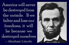 Abraham Lincoln---Exactly
