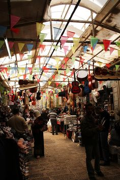 Old City market - Nablus, West Bank. Palestine 2011