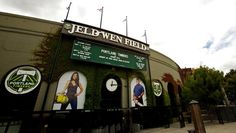 Jeld-Wen Field- Home of the Portland Timbers. RCTID!