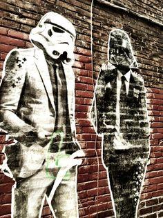 GQ Star Wars Street Art