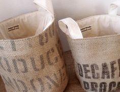Nähen mit Kaffeebohnensäcken