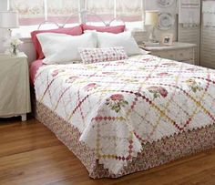 Cute diamond pillow pattern