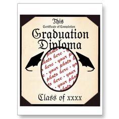 Graduation Diploma Photo Frame by Frames4you - SOLD 4-25-12 Shipping to Dallas, TX - #graduation #graduate #classof #classof2012 #zazzle #photoframe
