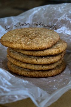 Brown Butter Gluten
