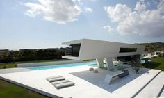 Futuristic Residence in Athens Reflecting The Owner's Passion for Yachts.
