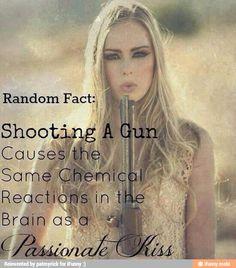 a kiss, guns, shooting range, quot, countri