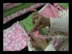 How To Make Quilt-Sewing Quilt For Baby