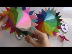 KUSUDAMA SOL 24 RAIOS. - YouTube