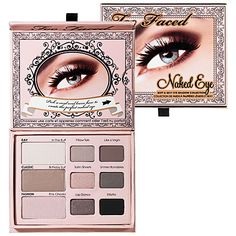 This is where it starts to get a little pricey. Two Faced has the BEST products. This eyeshadow palette is excellent. It has it's own mini brushes and it comes with cards that have different styles of how to apply eyeshadows for certain occasions. Buying this product started my obsession with Sephora. You can buy it on the website for $36.00. For the love of God, do not tell my parents how much I spent!