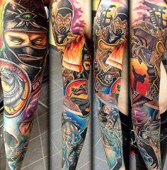Tattoo Artist - Aj Sacred Rose | www.worldtattoogallery.com/tattoo_artist/aj_sacred_rose
