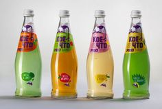 """Koe-chto"". Sweetened water design by Depot WPF. Russia."