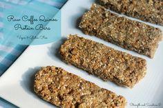 Raw Coffee Quinoa Protein Bars | Strength and Sunshine