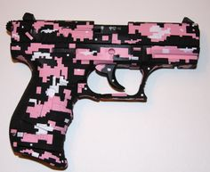 Walther p22 pink digi camo....I want this!