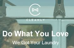 Cleanly, a laundry app in New York City. www.getcleanly.com