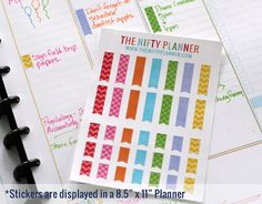 Planner stickers - b