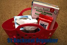 Organizing for travel with kids - great ideas for little bags for each of the kids for road trips vacat, kid activ, road trips, road trippin, kids, disney, roads, travel idea, roadtrip
