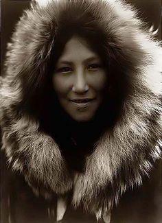 Ola, an Eskimo Girl. 1929 by Edward S. Curtis.