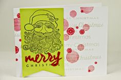 Merry Christmas Card by Erin Lincoln for Papertrey Ink (September 2014)