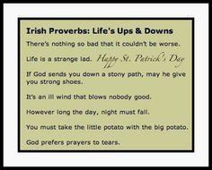 + A Few Irish Proverbs