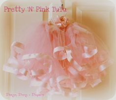 How to make your own pink tutu .. I know a little princess who would love one in every color