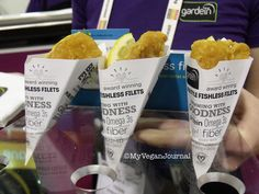 @gardein Fishless Filets! From #MyVeganJournal's Top 10 Vegan Moments at Natural Products Expo West 2014!