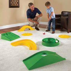 The Indoor Outdoor Mini Golf Course - Hammacher Schlemmer