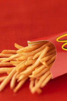 I love French fries! <3