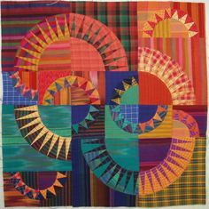Radiant New York Beauty in plaids and shot cottons by Wanda S. Hanson at Exuberant Color; design by Valori Wells