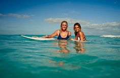 Childhood friends, amazing surfers, living the search: Alana Blanchard & Bethany Hamilton
