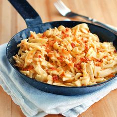Cheesy Chicken Noodles
