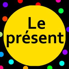 Introduce present tense verbs to preschoolers and kindergarten children (maternelle) with Le présent song and song lyrics.