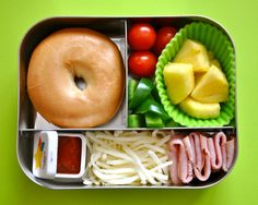 A gallery of lunch ideas for kids.  Plus, lunchboxes that are eco-friendly.
