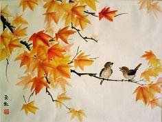 love - chinese brush painting
