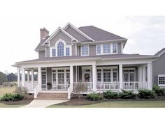 Eplans Farmhouse House Plan - Country Perfection - 2112 Square Feet and 3 Bedrooms(s) from Eplans - House Plan Code HWEPL11732