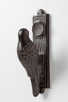 I really do love this! Woodpecker Door Knocker, $40.00