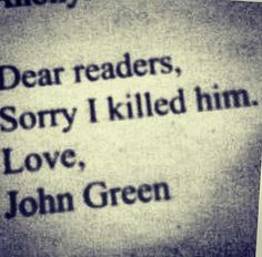 John Green & TFIOS on Pinterest | Augustus Waters, Tfios ...