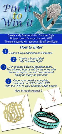 Enter this contest and Share with your friends! Follow the directions on the image - Good Luck!